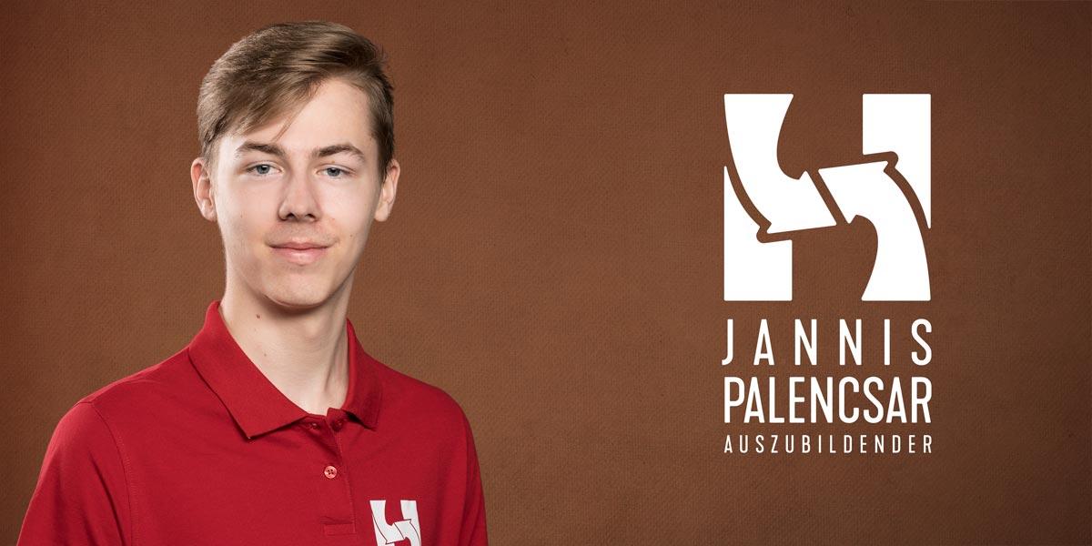 JANNIS PALENCSAR | Auszubildender